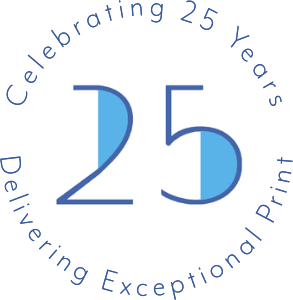 Celebrating 25 years delivering exceptional print
