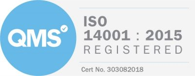 ISO 14001 : 2015 Registered