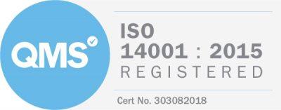 ISO 14001 : 2015 Registered