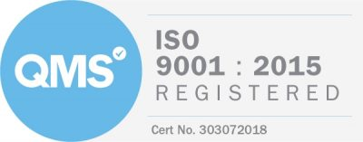 ISO 9001 : 2015 Registered