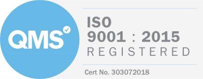 ISO 9001 : 2015 Registered